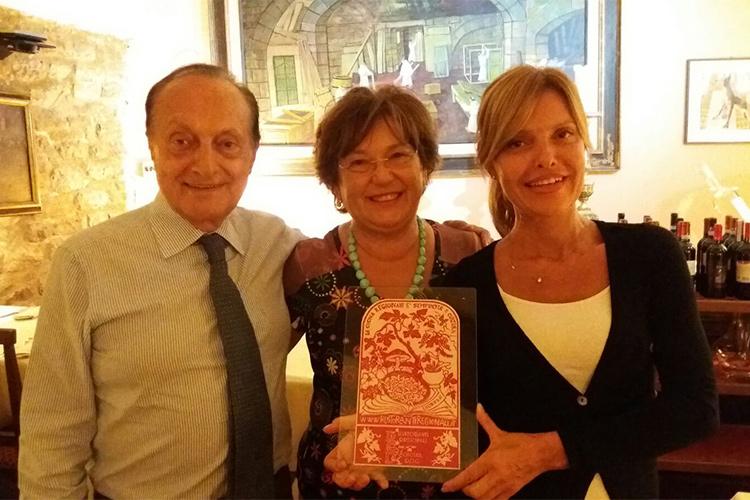 Rodolfo Mencarelli, la moglie Lisetta e la figlia Viviana
