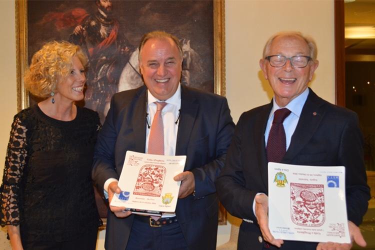 Marinella Argentieri (presidente Ristoranti Regionali), Danilo Moresco (vice presidente) e Angelo Valentini (presidente onorario)