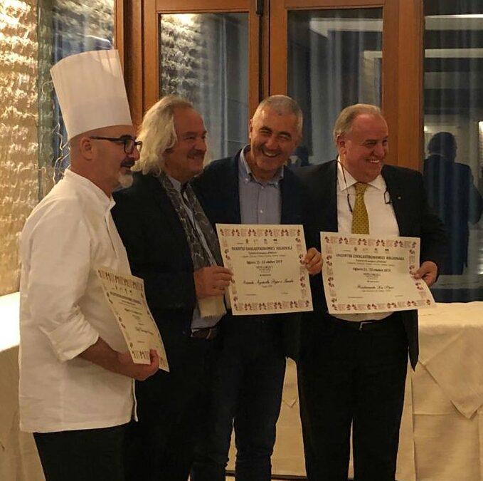 Lo chef sardo-bergamasco Sergio Mei tiene lezione all'Associazione Ristoranti-Regionali-Cucina Doc